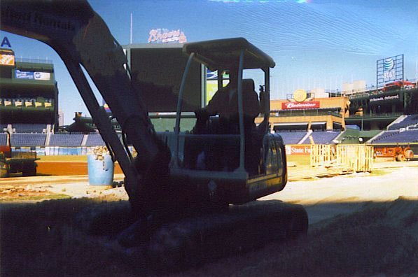 Baseball Field Installation | Atlanta Braves - MLB | Baseball Field Installation in Atlanta, Georgia | Power Plus Excavating