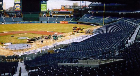 Baseball Field Installation for the Atlanta Braves - Professional Baseball Field Installer | Power Plus Excavating