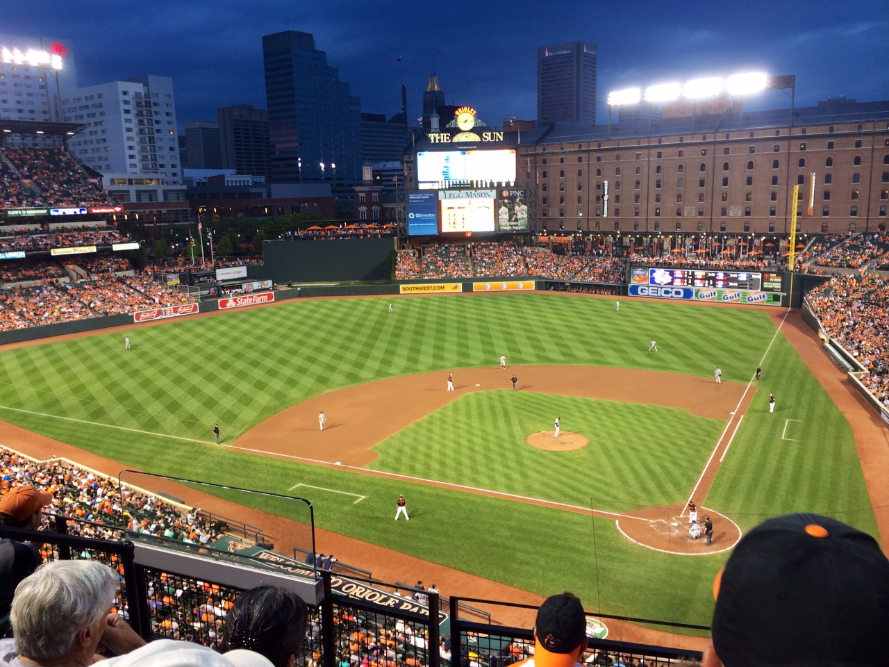 Baseball Field Installation for the Baltimore Orioles Professional MLB Team   Baseball Field Installation in Baltimore, Maryland   Power Plus Excavating