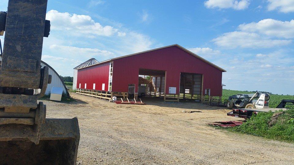 Barn Construction | Power Plus Excavating