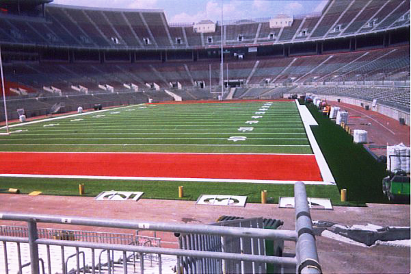 Football field installation for The Ohio State University | Power Plus Excavating